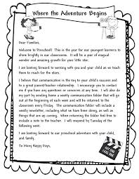 Welcome Back To School Letter Templates Preschool Time Welcoming Paren Welcome Parent Letters From Teachers