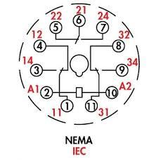 11 pin relay wiring diagram 11 Pin Relay Base Wiring Diagram item 750xcxm4l 24d 750 octal relays 11 pin 3pdt 16 amp 11 pin square base relay wiring diagram
