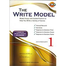 the write model essays secondary