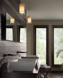 bathroom pendant lighting good bathroom pendant lighting placement casual window on plain wall