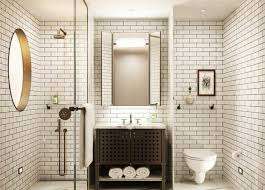 Subway Tile Bathroom For A Adorable Modern Subway Tile Bathroom Designs