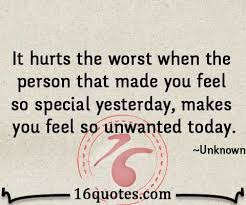 When Someone Makes You Feel So Unwanted Disappointment Quote Enchanting Disappointed Quotes About Family