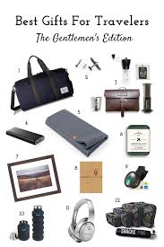 best gifts for travelers gentlemen s edition