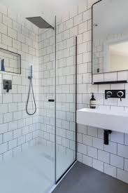 Black Taps Bathroom Bathroom Black And White Bathroom Industrial Luxe Industrial