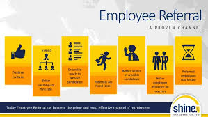 Employee Referal Shine Employee Referral Ppt