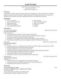 resume problem solving loss prevention officer resume sample problem  solving resume summary
