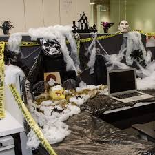 office decorations for halloween. Halloween Cubicle Decorating Contest Ideas With Office Decorations For