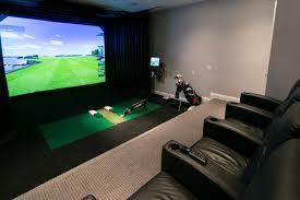 unique simulator residential simulator to best home golf m