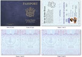 Free Passport Template For Kids Custom Custom Passport Invitation Cards