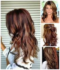 Hair Color Ideas Brown With Red Highlights