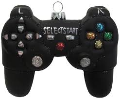 Black Video Game Controller 10cm