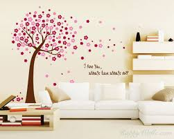 on wall art stickers love quotes with flower tree with love quotes wall decal vinyl tree art stickers