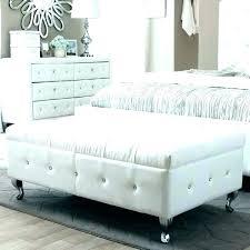 white bedroom bench grey diamond on ted upholstered bed modern for studio fluffy white bedroom bench