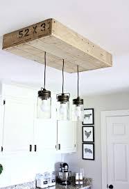 farmhouse lighting ideas. Wooden Palette Suspended Track Lighting Farmhouse Ideas
