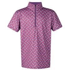 Rj Classics Show Shirt Size Chart Kerrits Kids Ice Fil Short Sleeve Shirt Amethyst Geo Bits Size Large Only