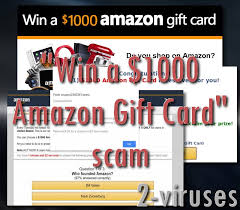 """Remove How Amazon """"win com 2-viruses 1000 - Gift Scam To Card"""""""