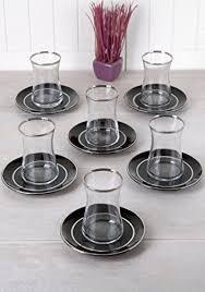 set of 6 tea cups 4 oz with saucer moroccan drinkware turkish tea glass podstakannik tea set teacup with lid russian tea glass holder