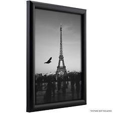 black picture frames. Craig Frames Bullnose Black Picture \u0026 Poster Frames, .75 R