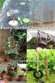 fairy garden making miniature furniture luxury accessories fairies containers glass fu