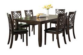 lebaron table 6 side chairs