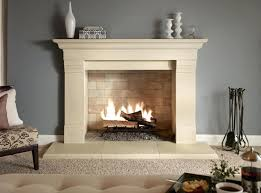 indoor portable fireplace living