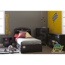 Motocross Bedroom Decor South Shore Luka Racing Flag And Race Badges Ottograff Wall Decal
