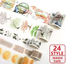 24 NEW Washi Tape Chinese Classical style <b>Flowers</b>/Girls...