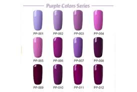 Gel Lak Purple Color Series Magic Nails Gelové Nehty