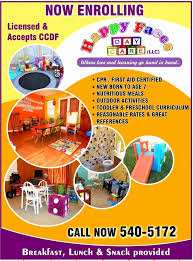 Daycare Flyer Wording Awesome Child Care Day Care Customizable
