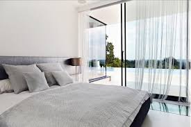 Glass Door Designs For Living Room Glass Door Bedroom Interior Design Ideas