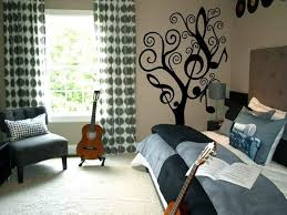 girl bedroom ideas themes. Music Themed Teen Room | 19 Photos Of The Girls Decorating Ideas For Tomboy Character Girl Bedroom Themes C