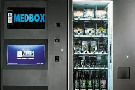 First Vending Machine Dispensed Amazing Medbox Dawn Of The Marijuana Vending Machine Bloomberg