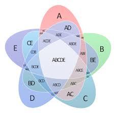 Venn Diagram With 5 Circles 5 Venn Diagram Magdalene Project Org