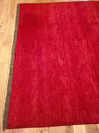 ikea wool rug large wool rug mod red colour ikea wool rug cleaning ikea wool rug