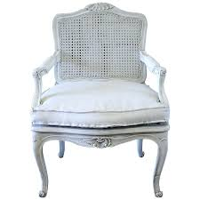 19th century painted french country style cane back chair at 1stdibs cane back chair pre woven dining chair makeover options cane