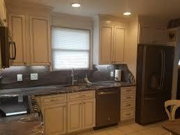 white cabinets remodel with glazed finish in dundalk kitchen remodel dundalk md