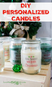 easy diy personalized candles loveourcrazylife
