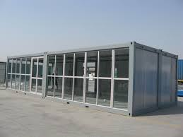 shipping container house/water and fire proof prefab steel structure  Container house