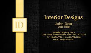 Interior Design Business Cards New Business Cards Interior Design