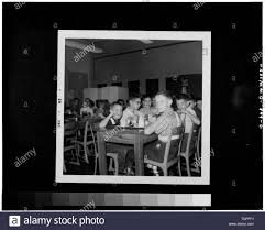 from personal collection of Mrs. Hilda Smith), 1963 INTERIOR, CAFETERIA  SEATING AREA - Jefferson Primary School, Lander Road at State Route 180,  Jefferson, Frederick County, MD; Demchuk, Mitchell, photographer Stock  Photo - Alamy