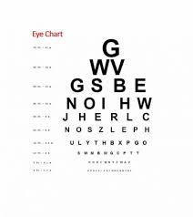 Eye Chart Template Download 50 Printable Eye Test Charts Printable Templates