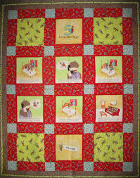 Funky Monkey Fabric and Kits - Admit One Fabrics & 5 Funky Monkeys Lap Quilt Complete Adamdwight.com