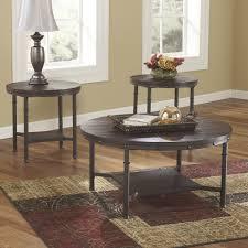 Coffee Table Set Of 3 Loon Peak Blake 3 Piece Coffee Table Set Reviews Wayfair