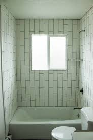 Bathroom Tub Wall Tile Designs How To Tile A Shower Tub Surround Part 1 Laying The Tile