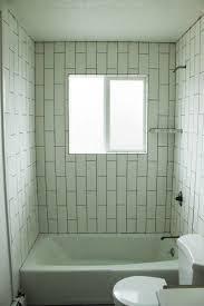 diy tile shower tub surround