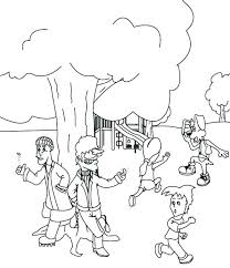Free Playground Coloring Pages Stranger Danger Coloring Pages