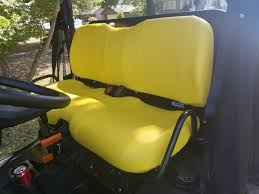 john deere gator bench seat covers xuv 855d s4 in solid yellow or 45 colors