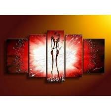 canvas art 5 panel canvas art abstract art of love canvas painting  on wall art lovers with canvas art 5 panel canvas art abstract art of love canvas