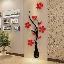 superhero wall decals canada fresh 3d plum vase wall stickers home decor creative wall decals living