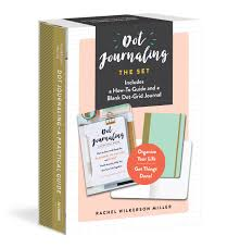dot journaling the set includes a how to guide and a blank dot grid journal rachel wilkerson miller 9781615194094 amazon books